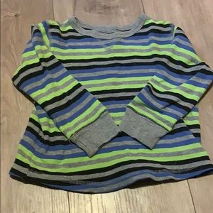 4t jumping beans striped thermal top